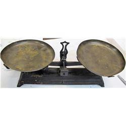 Antique Cast-Iron Scale, Possibly 1860s
