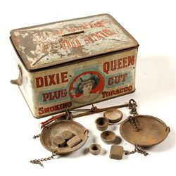 Gold Scale in Dixie Queen Plug Cut Tin