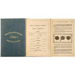 Wells, Fargo & Co's Express, 1882, Instructions