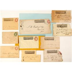 Philatelic Wells Fargo California Collection