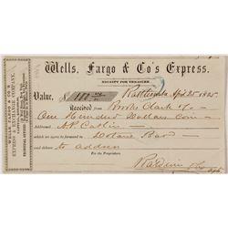 Wells, Fargo & Co Express; Rattlesnake to Dotan's Bar
