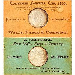 Wells Fargo & Co. Columbian Half Dollar
