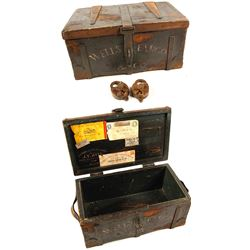 Facsimile Wells Fargo Treasure Box