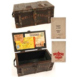 Fantasy Wells Fargo Mini Treasure Box