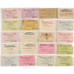 Western Union Pass Collection (1877-1941)