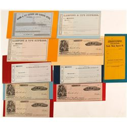 Unused Express Ephemera of Major Express Companies