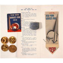 New York World's Fair Souvenirs 1939