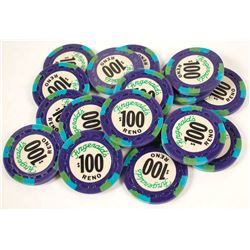 Fitzgeralds, Reno, NV $100 Chips