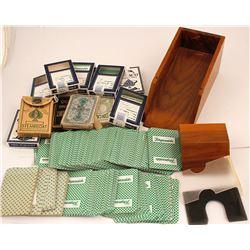 Early Blackjack Card Shoe