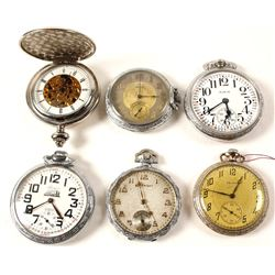 6 Pocket Watches
