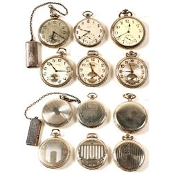 Vintage Elgin & Illinois Pocket Watches