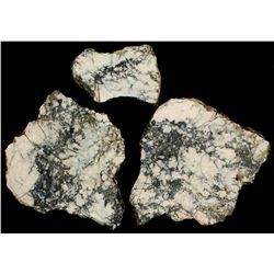 Three Reese River District High Grade Silver Specimens