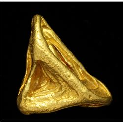 Octahedral Gold Crystal from Venezuela