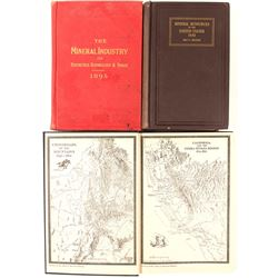 Mineral and Gold Rush Books (3)