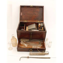 Assayer's Kit in Wood Case
