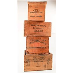 Wooden Explosives Boxes (4)