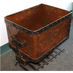 Miniature Ore Cart: Great Decorative Piece