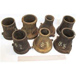 Seven Hydraulic Mining Nozzle Tips