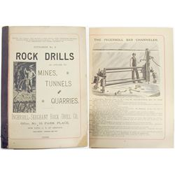Ingersoll Sargent Rock Drills Catalog No. 8