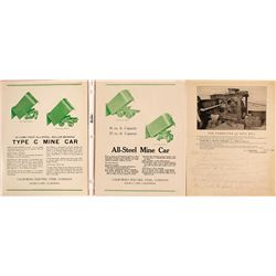 Mining Cars and Equipment Sales Sheets (3)