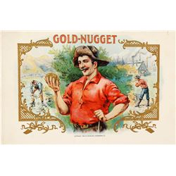 Original Cigar Label Proof: Gold Nugget