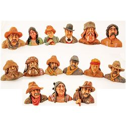 15 Piece Set of Various Mining Characters, 1