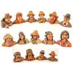 15 Piece Set of Various Mining Characters, 2