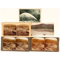 Stereoviews & Postcards of Dawson, Alaska Gold Rush