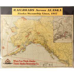 Map of Post Yukon Gold Rush