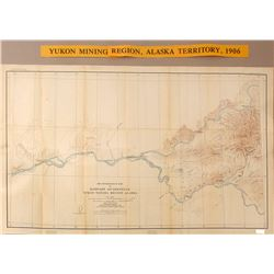 Map of Yukon Mining Region