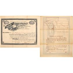Golden West Consolidated Mining & MIlling Company Stock Certificate
