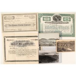 Globe Mining Collection: Stocks and Postcards