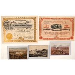 Old Dominion Mining Group: Stocks & Postcards