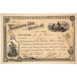 Tombstone Mill and Mining Company Stock Certificate