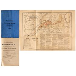 California Water & Mining Company Prospectus, 1880