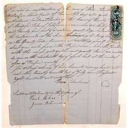 1863 Mining Claim, Hornitos, Mariposa County
