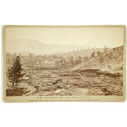 Mormon Bar, Mariposa County, CA , Placer Mining Photo by Watkins