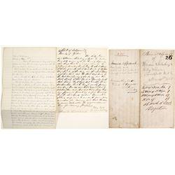 Handwritten Yuba County Mineral Affidavit