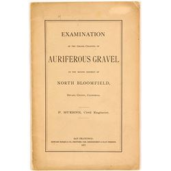 Examination of the Grand Channel of Auriferous Gravel in the North Bloomfield Mining District