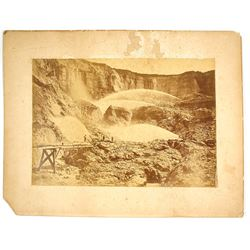 Mammoth Plate Print of Hydraulic Work on Malakoff Diggings