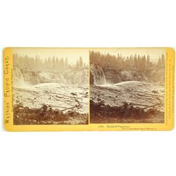 Malakoff Diggings – North Bloomfield Gravel Mining Co Stereoview by Watkins