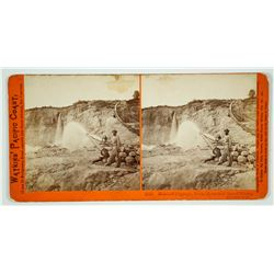 Malakoff Diggings – North Bloomfield Gravel Mining Co. Stereoview by Watkins