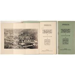 Century Mining Company Prospectus (Quicksilver Mine), c.1902