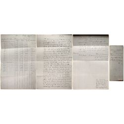 Contract between Aurora Gold & Silver Mine and Bay State Quartz Mill Company, 1858