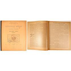 Truckee Geologic Folio, 1897