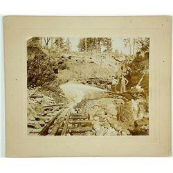 Unidentified Hydraulic Mining Photograph