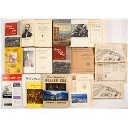 California Mining, Gold Rush Related Books