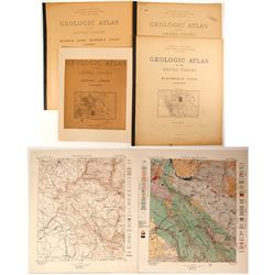 Motherlode Region USGS Folios