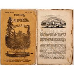 The Discovery of Gold in California [in Hutchings' California Magazine] San Francisco, 1857