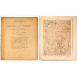 Pikes Peak USGS Folio, 1894